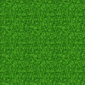 Seamless green grass vector pattern. Grass pattern, lawn grass, green grass nature illustration