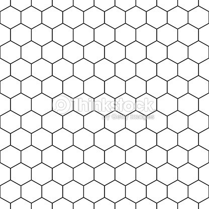 Sechseckige Musterdesign Vektor Geometrischen Hintergrund ...