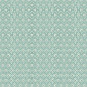 Seamless background image of Japanese style geometry flower pattern.