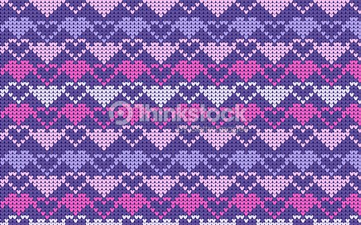 Seamless Knitted Pattern With Snowflakes Vector Art Thinkstock