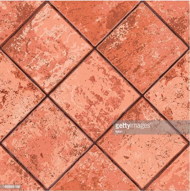 seamless Mexican tiled floor