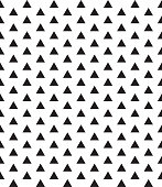 seamless monochrome geometric vector pattern.