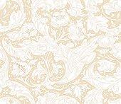 Modern fabric design pattern. Desktop wallpaper. Background. Floral pattern for your design. Illustration. Modern seamless pattern for interior decoration, wrapping paper and graphic design.  Modern s