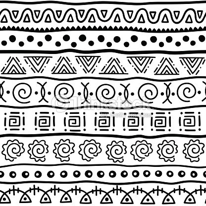 Seamless Pattern In Ethnic Style Ornamental Element