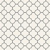 seamless pattern in oriental style. monochrome vector