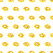 6e5abfd5ab16a Seamless Pattern Summer Beach Frisbee Background With Template In ...