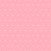 Seamless Pattern with Small Pink Hearts. Vector Illustration.