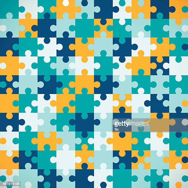 Nahtlose Puzzle Hintergrund