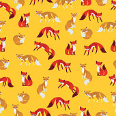 Pattern was made in eps 10. Seamless pattern background.