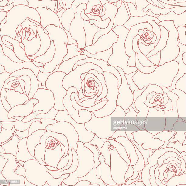 Nahtlose Rosen