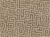 A squarish spiralish pattern that can tile seamlessly.