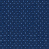 Seamless stars texture. Vector simple seamless background with star for wrapping, patriotic and holiday paper design.