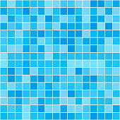 Seamless texture of swimming pool. Seamless vector illustration