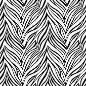 Seamless texture of zebra skin. background for design for greeting card and invitation of the wedding, birthday, Valentine Day, mother day and other seasonal holiday