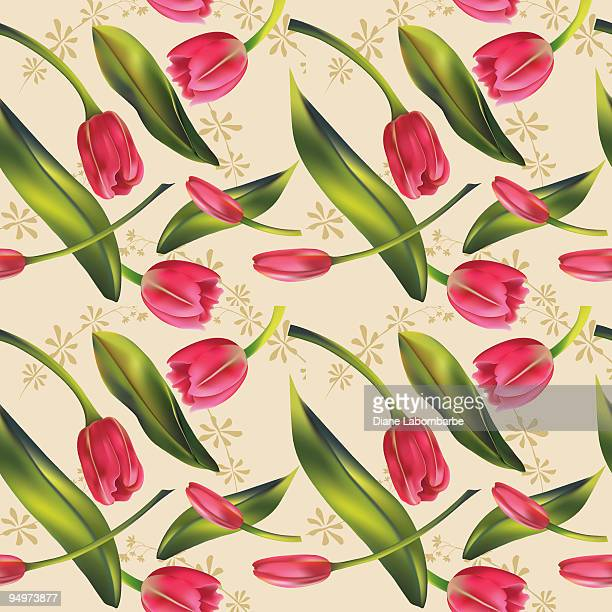 Tulip Wallpaper: Tulip Stock Illustrations And Cartoons