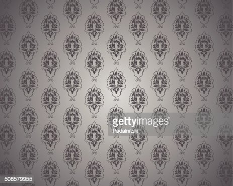 Seamless vintage wallpaper : Vectorkunst
