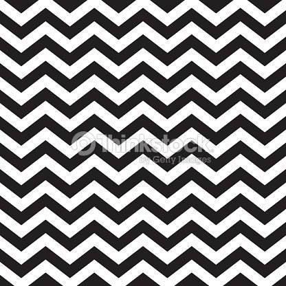 Seamless zigzag chevron pattern in black and white : stock vector