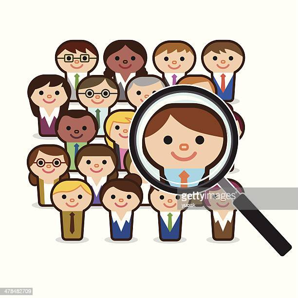 Searching people for job