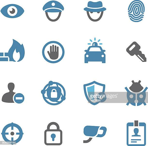 Security Icons - Conc Series