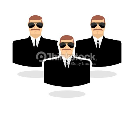 Gafas Guardaespaldas Hombre Seguridad Protector Icono De En srhtQd