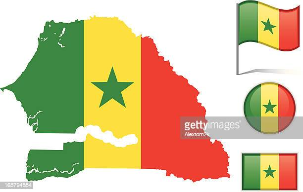 Senegal Vector Art And Graphics Getty Images - Senegal map vector
