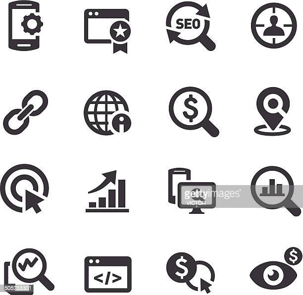 SEO Services Icons - Acme Series