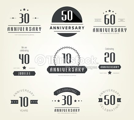 Set of 10th 20th 30th 40th 50th 60th anniversary logo vector art set of 10th 20th 30th 40th 50th 60th anniversary logo altavistaventures Image collections