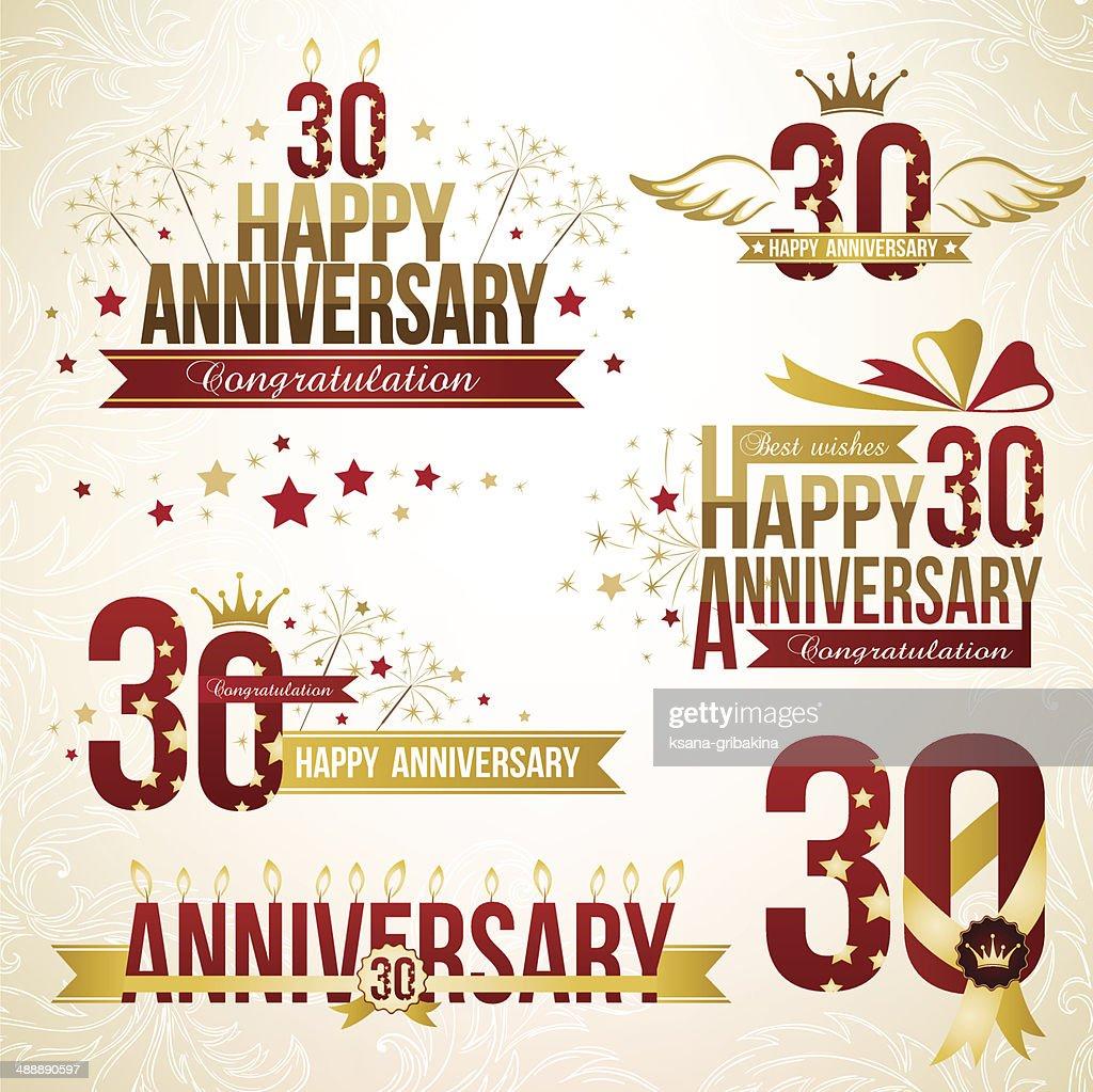 30th Anniversary Clip Art Congratulations World Wide Clip Art