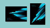 Set of Abstract Backgroundю Vector illustration.