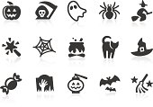 Simple Halloween related vector icons for your design and application. Files included: vector EPS, JPG, PNG.