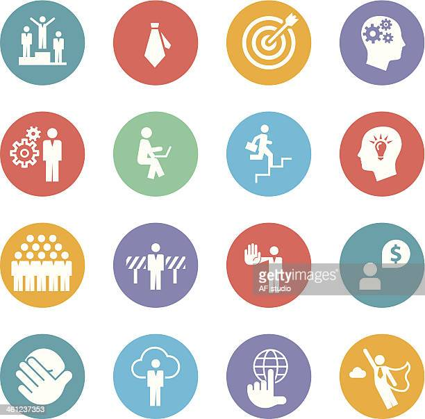 Set of Business Metaphore Icons