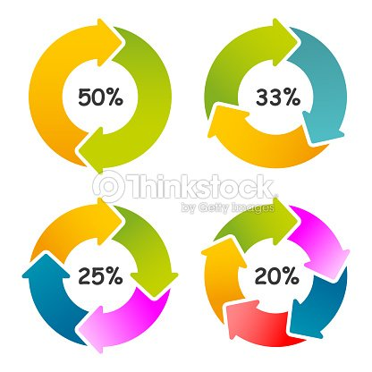 Set of circle percentage diagrams for web design circle diagrams set of circle percentage diagrams for web design circle diagrams isolated marketing illustration stock vector ccuart Choice Image