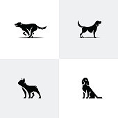 Animal icon vector collection