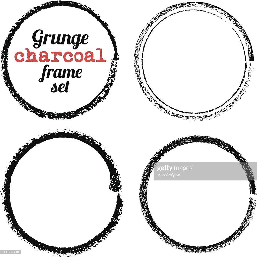 of vector grunge circle - photo #7
