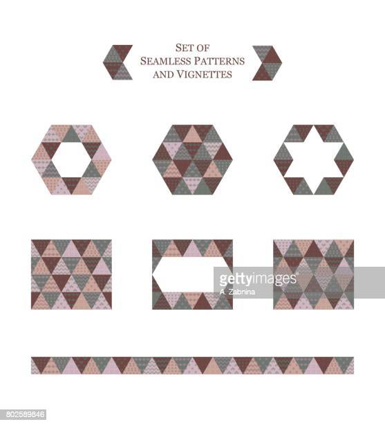 Ilustraciones de Stock y dibujos de Mosaicos En Tela | Getty Images