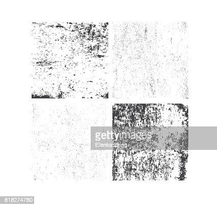 Set of grunge textures. Abstract vector template : stock vector