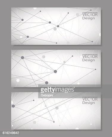 Set of horizontal banners : Vector Art