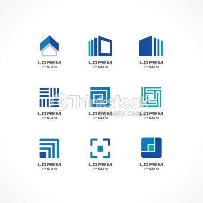 Set Of Icon Design Elements Abstract Logo Ideas For Business ...