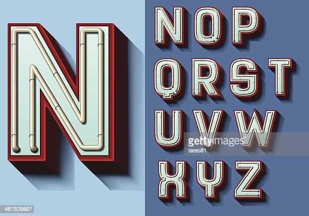 Juego de cartas N-Z aislado capital