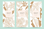 Design template of leaflet cover, flayer, card for the hotel, beauty salon, spa,restaurant, club.
