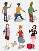 people vector series