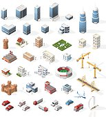 Buildings and Vehicles.