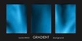 Set of Trendy Gradient Backgrounds for Cover, Flyer, Brochure, Poster, Wedding Invitation, Wallpaper, Backdrop Business Design