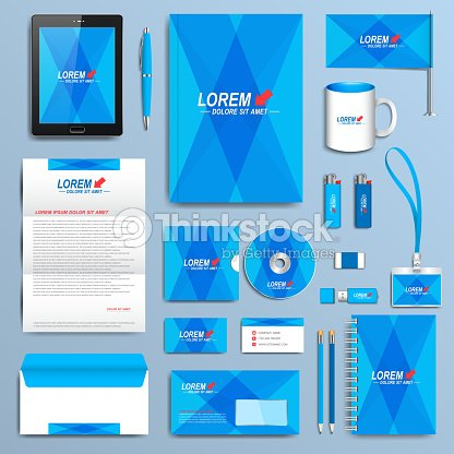 Set of vector corporate identity template modern business stationery set of vector corporate identity template modern business stationery design vector art wajeb Image collections