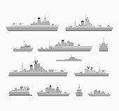 Set warships for design and for creativity