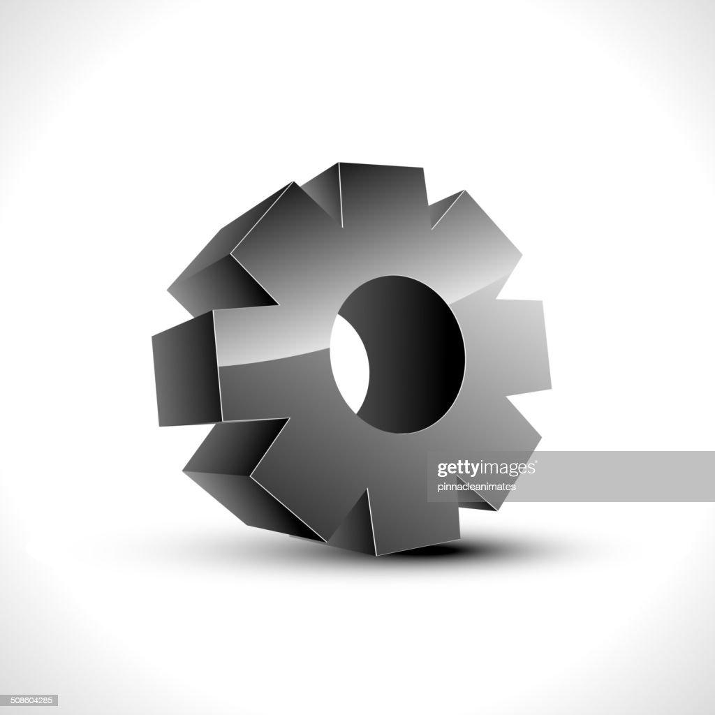 setting icon : Vector Art