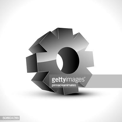 Icono de ajuste : Arte vectorial