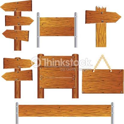 panneau en bois clipart vectoriel thinkstock. Black Bedroom Furniture Sets. Home Design Ideas