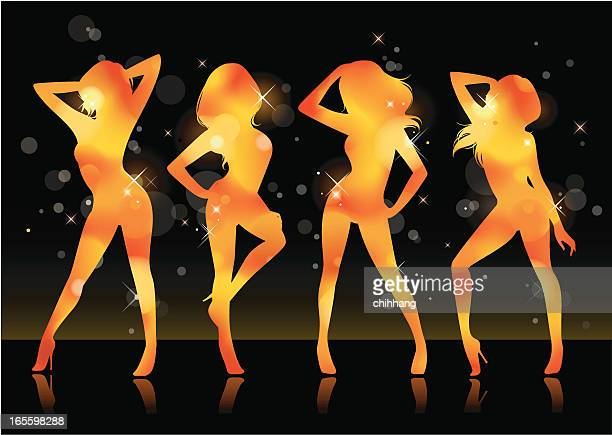 Sexy Tänzerin