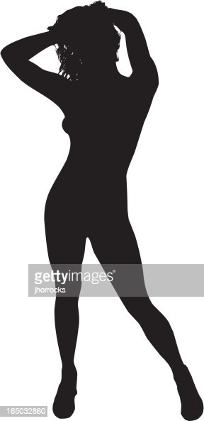 Silhouette Sexy images lady